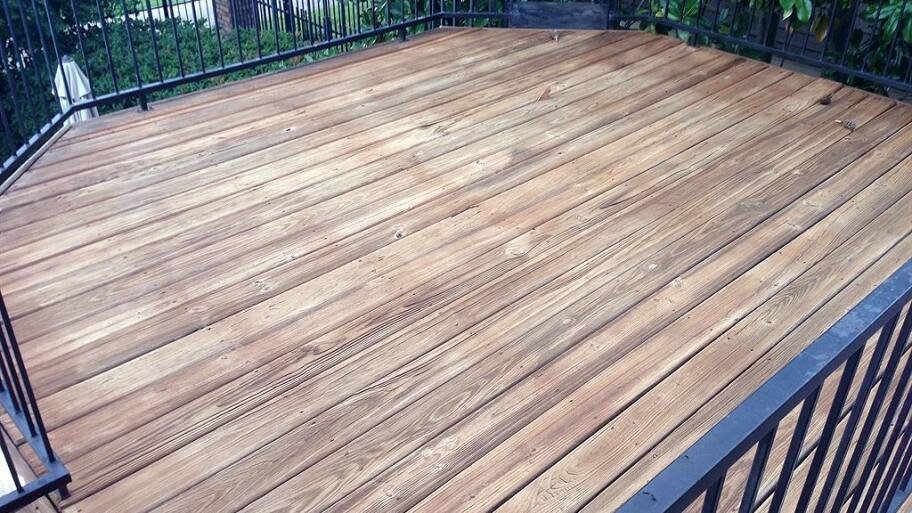 How Long For Stain To Dry On Deck